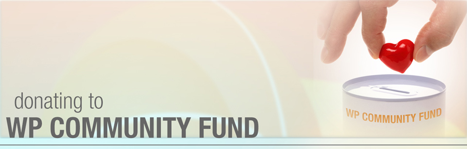 Donate to WP Community Fund