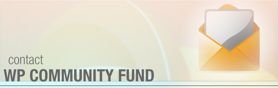 Contacting WP Community Fund, Singapore
